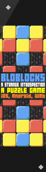 Bloblocks: A puzzle game, a strange introspection.